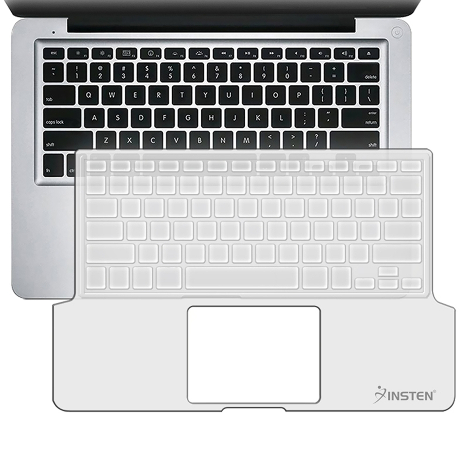 Insten For Macbook Pro 13 Inch Clear Keyboard Full Skin Shield Cover
