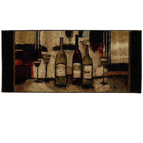 "Mohawk Home New Wave Non-Slip Kitchen Rug, 20"" x 45"", Multiple Sizes Available"
