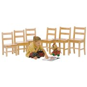 Steffy Wood Products SWP71-18 18 in. Solid Maple Chair