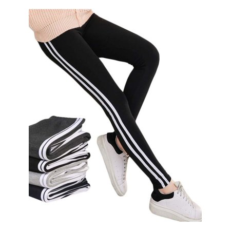 Lavaport Women Jogging Side-Striped Pants Causal Youth Campus Lively Trousers (Campus Pants)