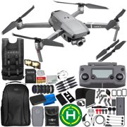 DJI Mavic 2 Zoom Drone Quadcopter with 24-48mm Optical Zoom Camera 64GB Ultimate Everything You Need 1-Battery Bundle