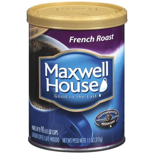 Maxwell House French Roast Medium Dark Coffee, 11 oz