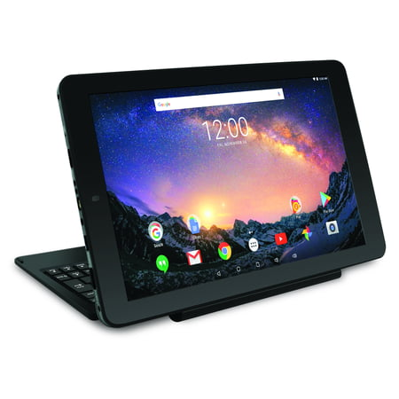 "RCA Galileo Pro 11.5"" 32GB 2-in-1 Tablet with Keyboard Case Android OS, Charcoal"