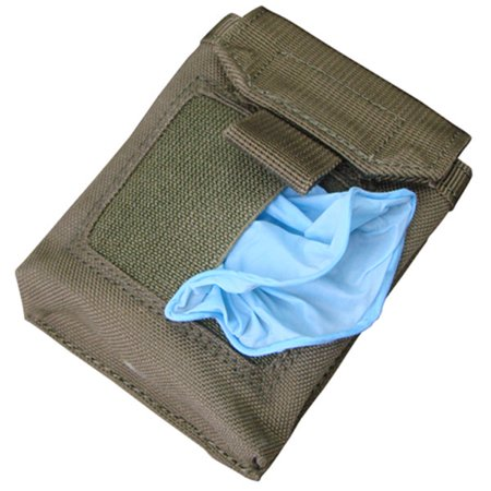 Glove Pouch - Condor MA49 Tactical EMT EMS Medic MOLLE Glove Pouch - OD Green