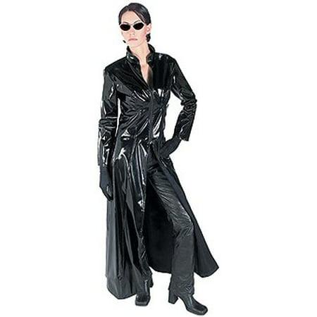 Adult Deluxe Trinity Costume - Morpheus Matrix Halloween Costumes
