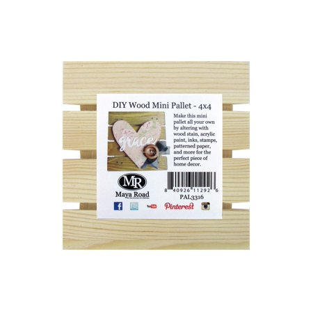 Maya Road Wood DIY Mini Pallet (Maya Road Chipboard)