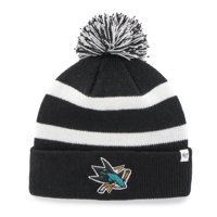 a808062f21f Product Image San Jose Sharks  47 Breakaway Cuffed Knit Hat - Black - OSFA