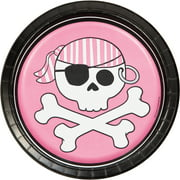 """Creative Converting Pirate Parrty 7"""" Luncheon Plates"""