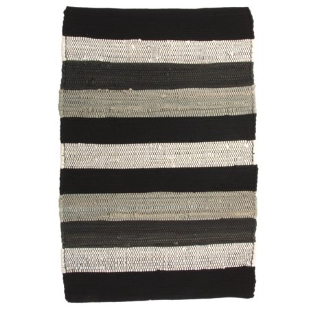 Allure Home Creations (2 Pack) Chindi Rug 20x32 Inch Rag Rug Set: Washable  Rugs For Accent Rug, Area Rug, Living Room, Kitchen, Bathroom, Entryway