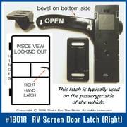 RV / Camper screen door latch E285