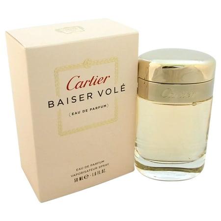 - Cartier Baiser Vole Eau de Parfum Spray For Women 1.6 Oz