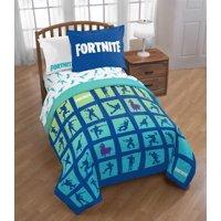 Fortnite Boogie Twin/Full Reversible Comforter & Sham Set