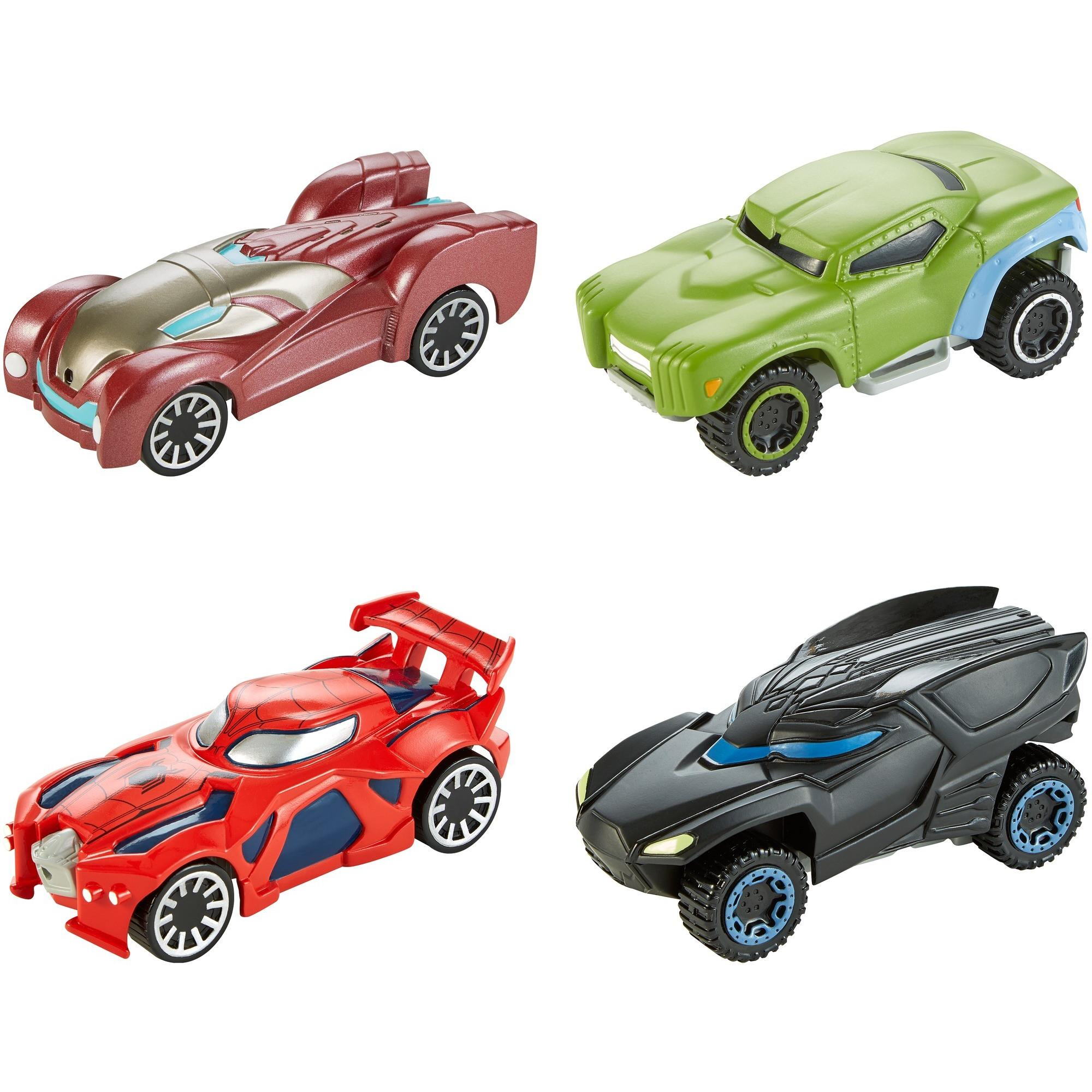Hot Wheels Marvel Flip Fighters Vehicles For In Air Battles (Styles May Vary)