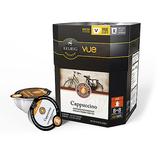 Keurig Vue Pack Barista Prima Coffeehouse Italian Roast Coffee, 12ct