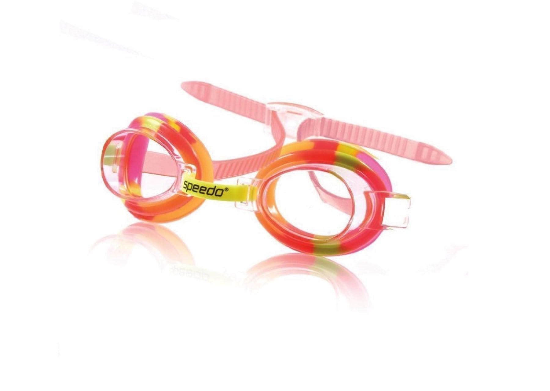 Speedo Kids Tye-Dye Splasher Goggle Kids Swim Goggle Yellow by Speedo