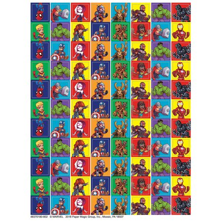 MARVEL SUPER HERO ADVENTURE 88UP STICKERS MINI - Super Hero Stickers