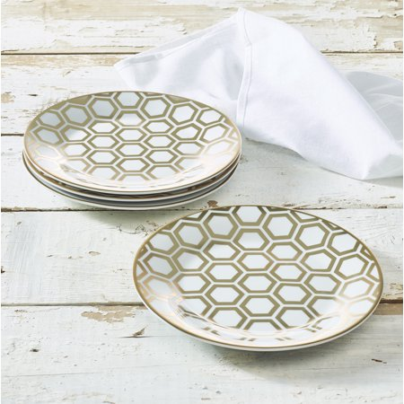 Porcelain Perforated Plate (Beehive Collection Porcelain 7.5