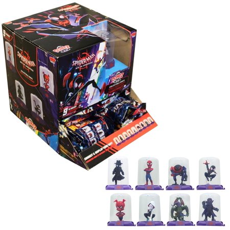 Marvel Spider-Man Spiderverse Domez Collectible Figure - One Random](Spiderman Mask Replica For Sale)