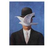 Rene Magritte-L'homme au chapeau melon-2013 Poster