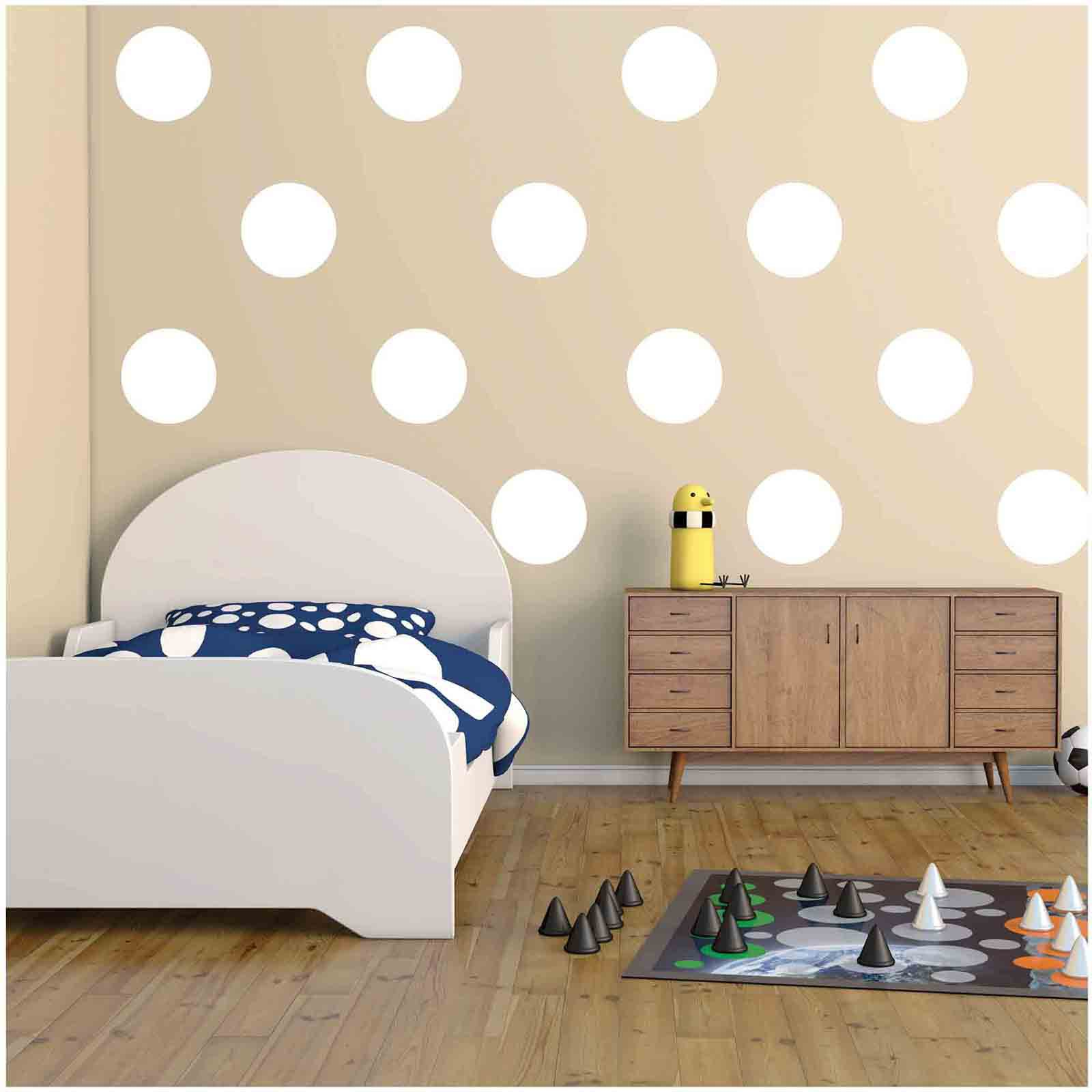 Quest Products 9 inch Polka Dots Wall Decal