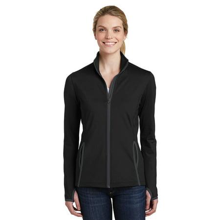 Sport-Tek Women's Stretch Contrast Full-Zip - Devon Aire Stretch Coat