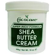 Cococare Shea Butter Cream 15 oz. (Pack of 6)