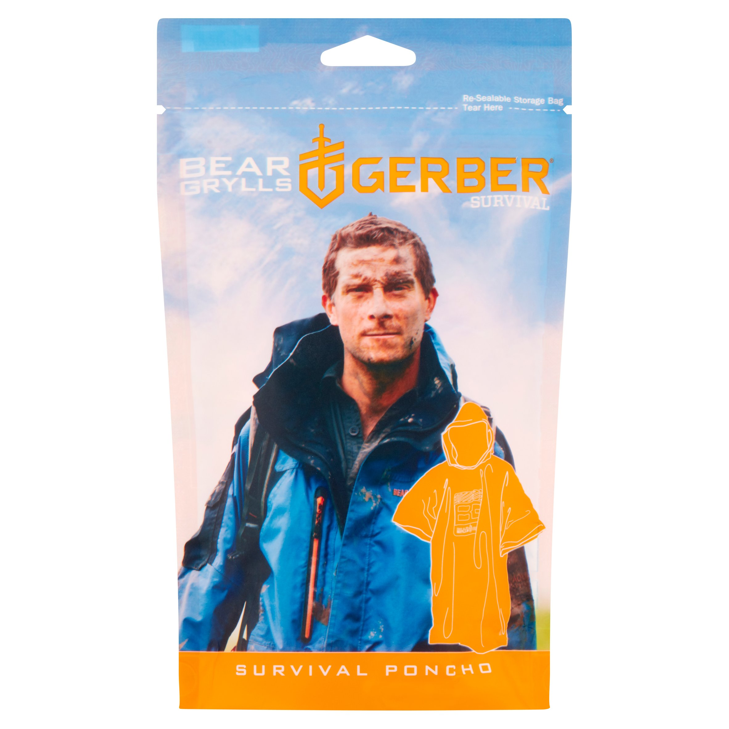 Click here to buy Gerber Bear Grylls Survival Poncho by Gerber Blades.
