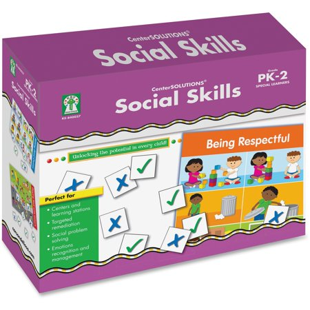 Carson-Dellosa, CDP840027, Grade PreK-2 Social Skills File Folder Game, 1 Each, Multi](Folder Games)