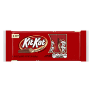 Kit Kat, Crisp Wafer Milk Chocolate Candy Bars Snack Size, 0.49 Oz, 5 Ct