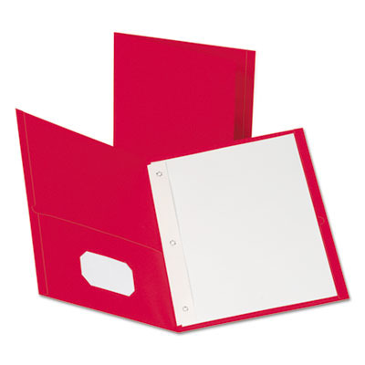 Twin-Pocket Folders with 3 Fasteners OXF57711