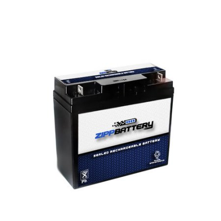 12V 21.2AH 255W Sealed Lead Acid (SLA) Battery - T3 Terminals by Zipp Battery