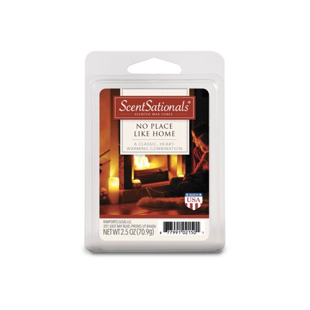 ScentSationals 2.5 oz No Place Like Home Scented Wax Melts, 1-Pack