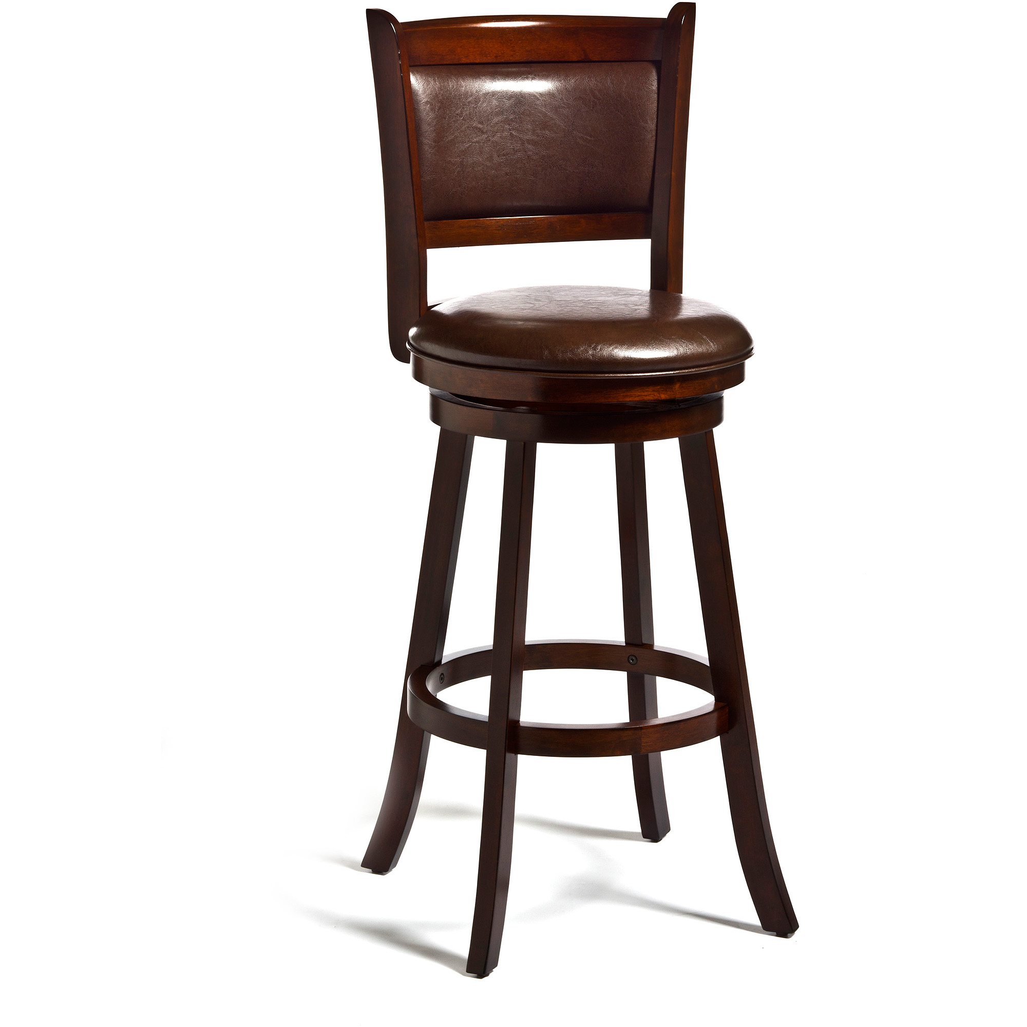 Hillsdale Dennery 24 in. Swivel Counter Stool Cherry by Hillsdale Furniture LLC