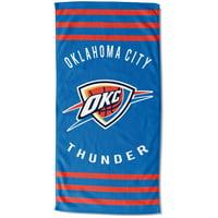 """Oklahoma City Thunder The Northwest Company 30"""" x 60"""" Striped Beach Towel - No Size"""