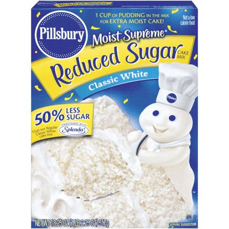 Pillsbury Classic White Cake Mix Review