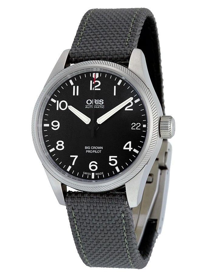 Big Crown ProPilot Automatic Black Dial Grey Fabric Mens Watch 751-7697-4164GYFS