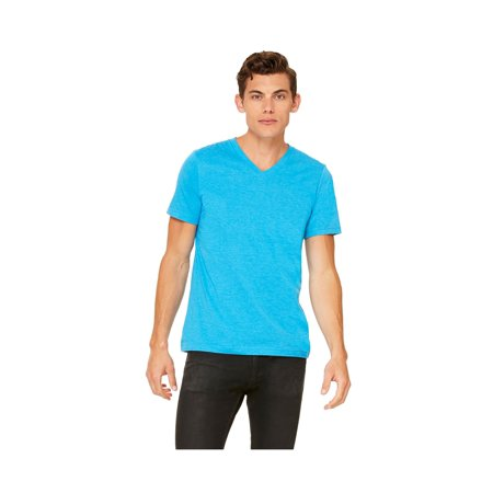 Bella+Canvas Comfortable V-Neck Soft Fitted Jersey T-Shirt, Style C3005