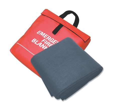 Fire Blanket and Pouch,Carbon Felt SELLSTROM S97453