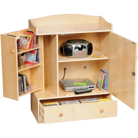Guidecraft Storage Unit, Natural