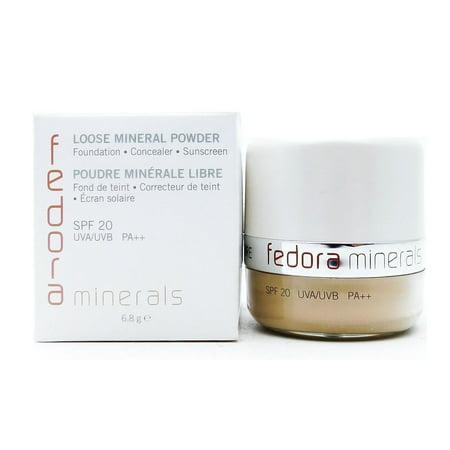 Golf Fedora (Fedora by Jane Iredale Loose Mineral Powder LP7 / Golden Plus .24)