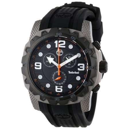 2350acb8b9ee Timberland - Timberland TBL-13318JSUB-02 Men s Front Country Black Dial  Gunmetal Steel Black Rubber Strap Chronograph Watch - Walmart.com