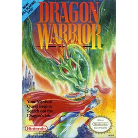 Dragon Warrior - Nintendo NES (Refurbished) Back To The Future Nes Game