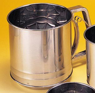 Harold Imports 5 Cup Ss Squeeze Sifter