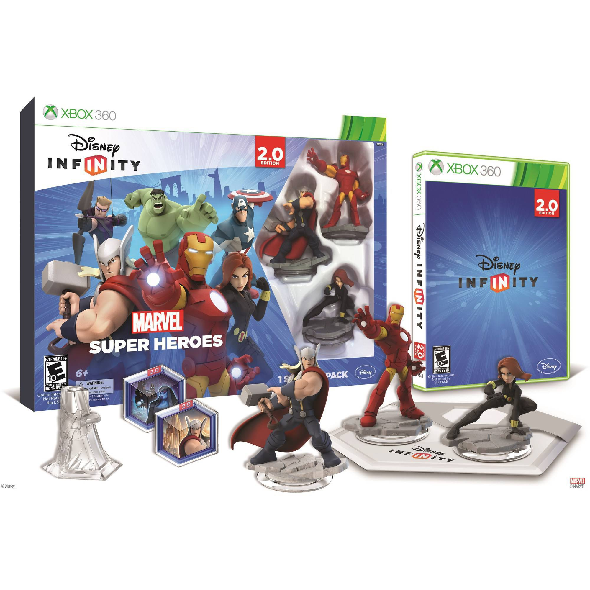 Disney Infinity: Marvel Super Heroes (2.0 Edition) Video Game Starter Pack (Xbox 360)