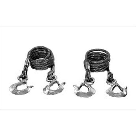 BLUE OX BX88197 Kit Safety Cables 10000 lbs. - image 2 of 2