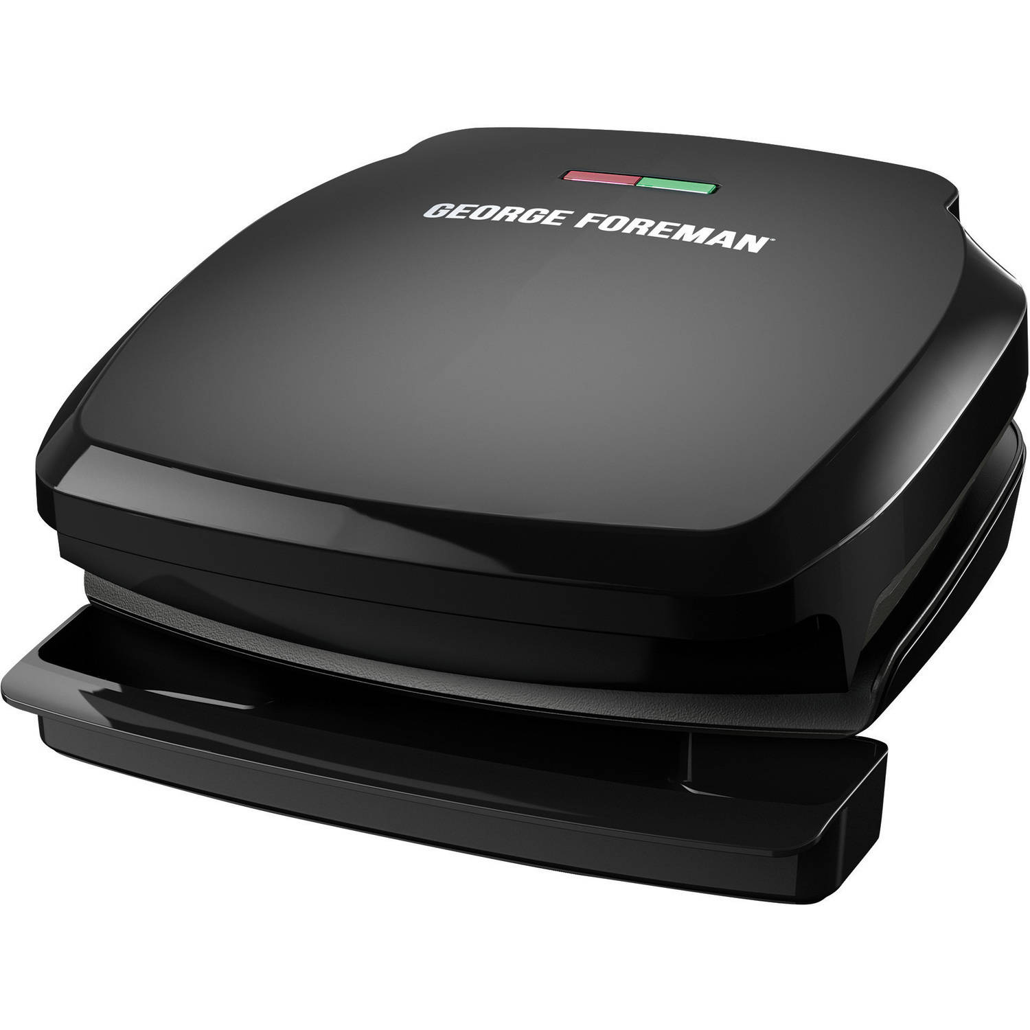George Foreman Classic 2-Serving Fixed Plate Grill