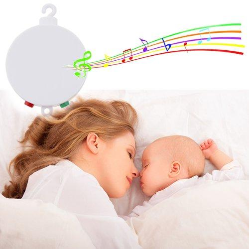 AGPtek Baby Musical Mobile Plays Twelve Tunes Many Children Songs with Pass CE RoHs Standard by AGPTEK