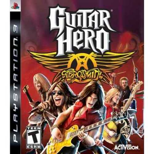 Activision Guitar Hero Aerosmith - Game Only (PS3) (Video Game)