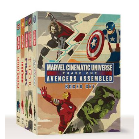 Marvel Cinematic Universe: Phase One Book Boxed Set : Avengers Assembled