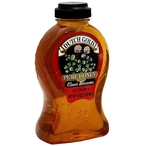 Dutch Gold Pure Honey From Clover Blossoms, 16 oz (Pack of 6) by Generic